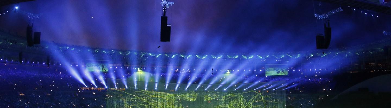 Movimento na entrada do Maracanã para abertura dos Jogos